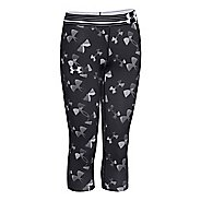 Kids Under Armour HeatGear Printed Capri Tights