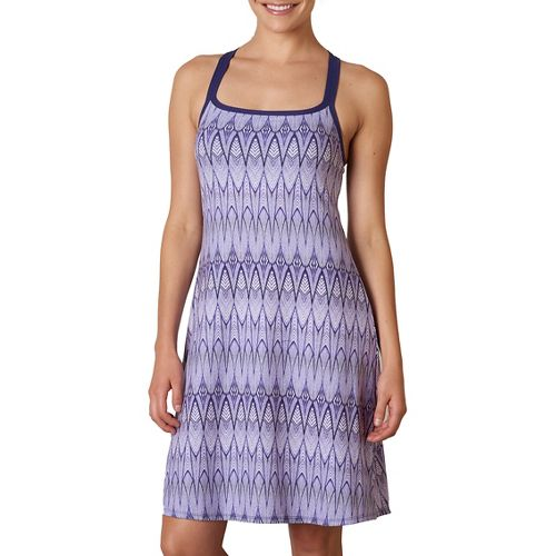 Womens Prana Cora Skirts Dresses - Violet Feather S