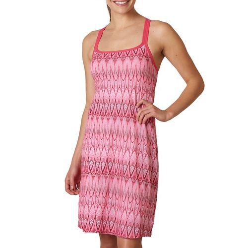 Womens Prana Cora Skirts Dresses - Azalea Feather L