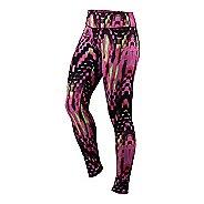 Womens ASICS Printed Tights & Leggings Pants