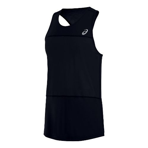 Mens ASICS ASX Dry Sleeveless & Tank Technical Tops - Deep Cobalt M