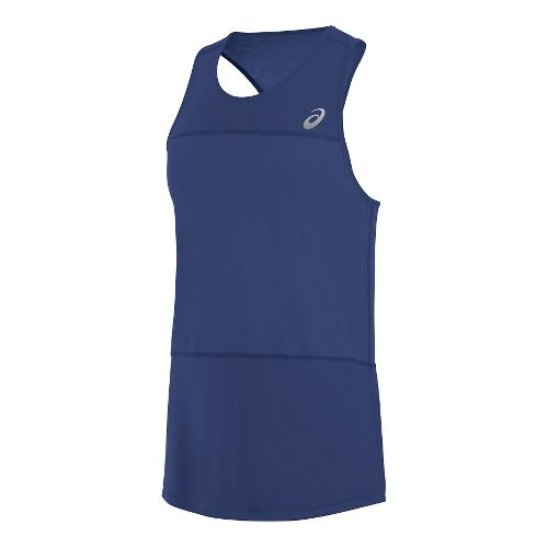Mens ASICS ASX Dry Sleeveless & Tank Technical Tops - Deep Cobalt XL