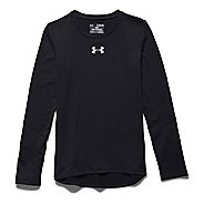 Kids Under Armour Coldgear Long Sleeve No Zip Technical Tops