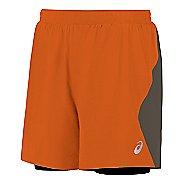 "Mens ASICS 2-n-1 6"" Lined Shorts"