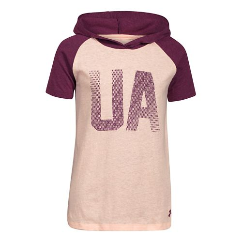 Kids Under Armour�Half Time Short Sleeve Hoody