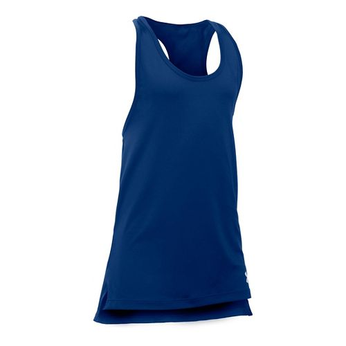 Under Armour Girls Luna Sleeveless & Tank Technical Tops - Caspian YS