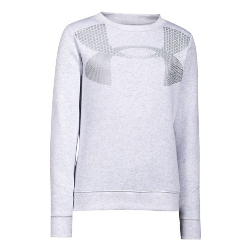 Kids Under Armour�Charged Cotton Metallic Crew