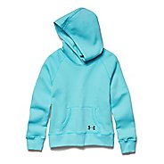 Kids Under Armour Rival Cotton Solid Hoody Outerwear Jackets