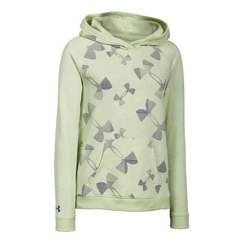 Kids Under Armour Kaleidelogo Hoody Outerwear Jackets - Minty YXL