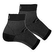 OS1st FS6 Performance Foot Sleeve Pair Injury Recovery - Black L