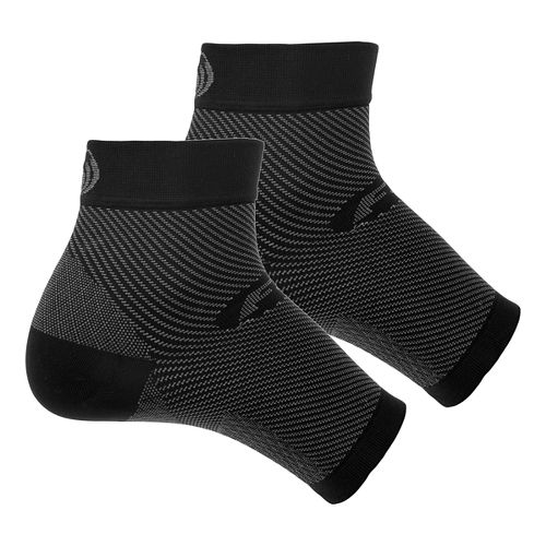 OS1st FS6 Plantar Fasciitis Sleeve Pair Injury Recovery - Black XL