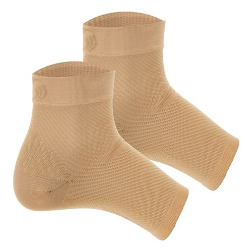 OS1st FS6 Performance Foot Sleeve Pair Injury Recovery - Natural L
