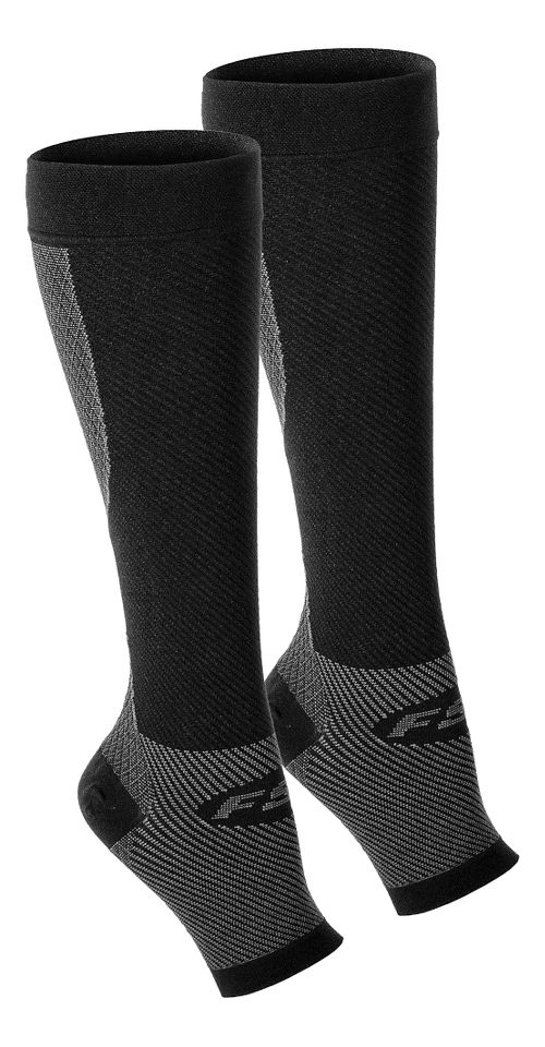 OS1st FS6+ Performance Foot + Calf Sleeve Pair Injury Recovery - Black M