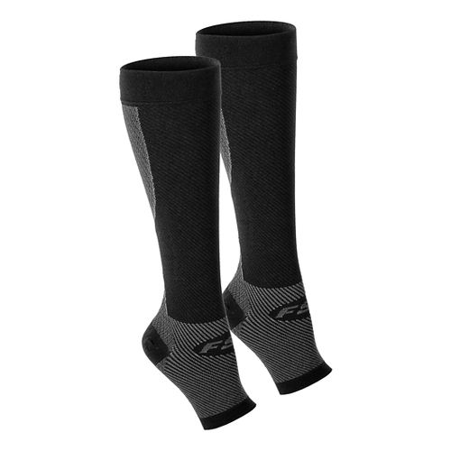 OS1st FS6+ Performance Foot + Calf Sleeve Pair Injury Recovery - Black S