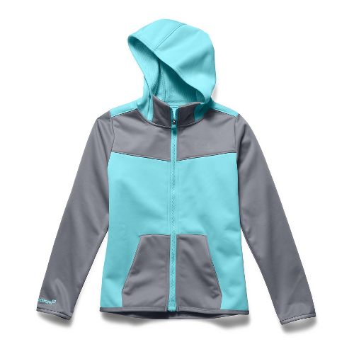 Kids Under Armour Storm Coldgear Infrared Full-Zip Outerwear Jackets - Veneer YL