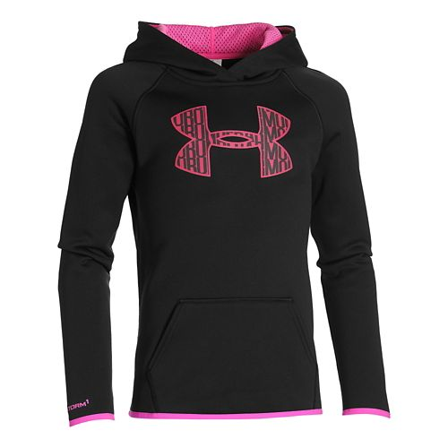 Kids Under Armour�Armour Fleece Big Logo Hoody