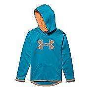 Kids Under Armour Fleece Big Logo Hoodie & Sweatshirts Technical Tops
