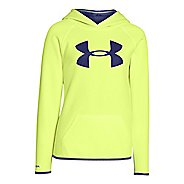 Under Armour Girls Fleece Big Logo Hoodie & Sweatshirts Technical Tops