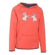 Under Armour Girls Fleece Big Logo Hoodie & Sweatshirts Technical Tops