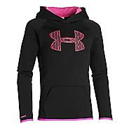 Kids Under Armour Fleece Big Logo Hoody Outerwear Jackets