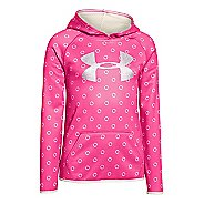 Kids Under Armour Fleece Printed Big Logo Hoodie & Sweatshirts Technical Tops