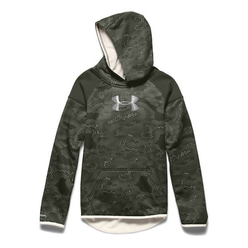 Kids Under Armour�Storm Armour Fleece Novelty Big Logo Hoody
