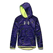 Kids Under Armour Storm Armour Fleece Novelty Big Logo Hoody Outerwear Jackets