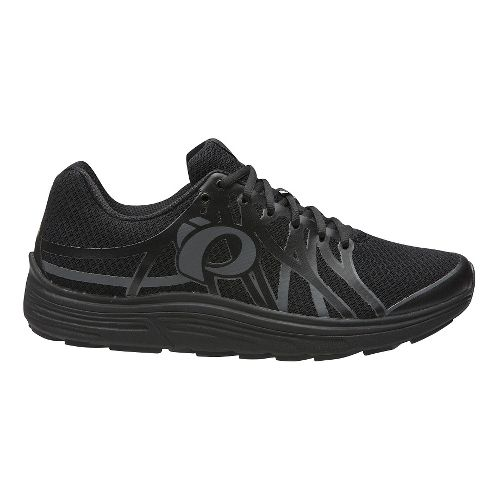 Mens Pearl Izumi EM Road N 3 Running Shoe - Black/Fountain Blue 12.5
