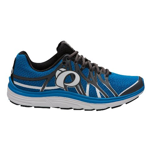 Mens Pearl Izumi EM Road N 3 Running Shoe - Grey/Fountain Blue 9