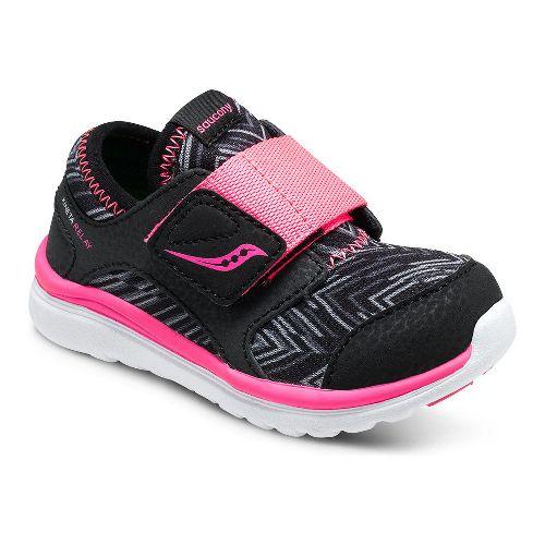 Kids Saucony Kineta Alternative Closure Running Shoe - Charcoal 9.5C