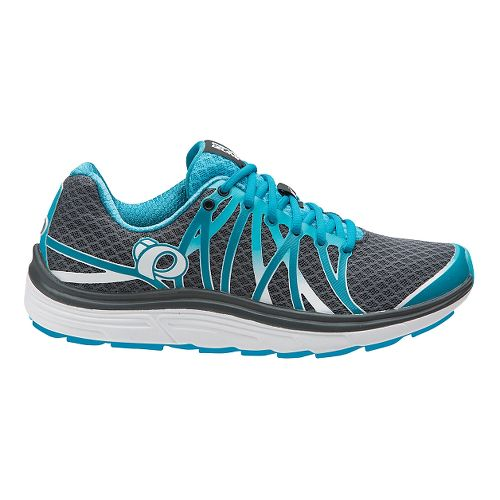 Womens Pearl Izumi EM Road N 3 Running Shoe - Shadow Grey/Algiers 5.5
