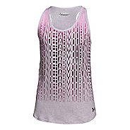 Kids Under Armour Stacked Tank Technical Tops