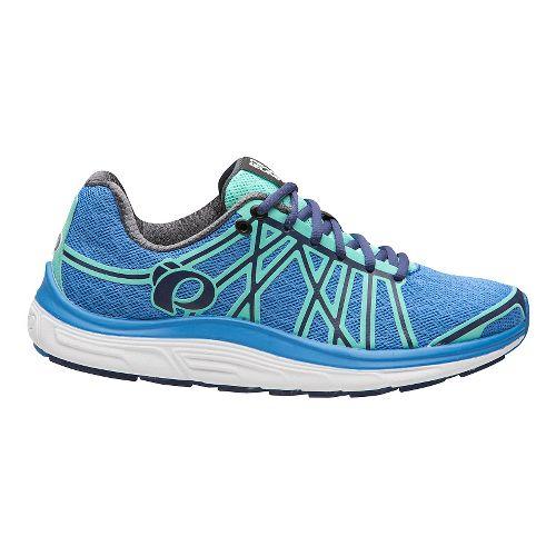 Womens Pearl Izumi EM Road M 3 V2 Running Shoe - Blue/Aqua Mint 7