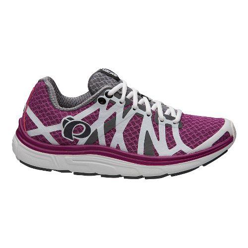 Womens Pearl Izumi EM Road H 3 V2 Running Shoe - Smoked Purple Wine 7 ...