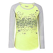 Kids Under Armour Constellation Longsleeve Raglan Long Sleeve No Zip Technical Tops