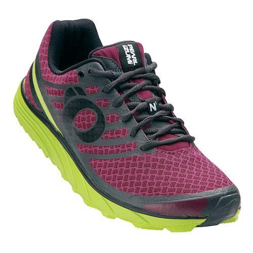 Mens Pearl Izumi EM Trail N 1 V2 Trail Running Shoe - Beet Red/Lime 9.5 ...