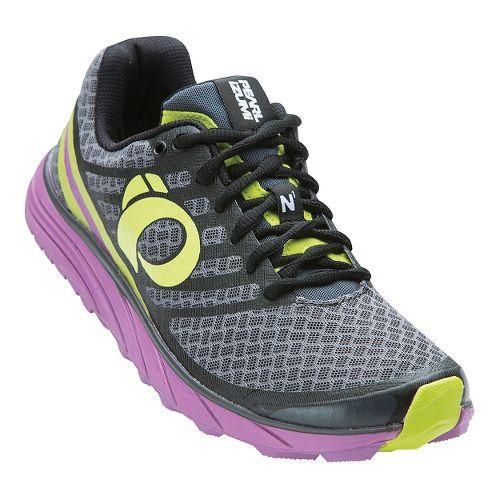Womens Pearl Izumi EM Trail N 1 V2 Trail Running Shoe - Shadow Grey/Mauve 9 ...