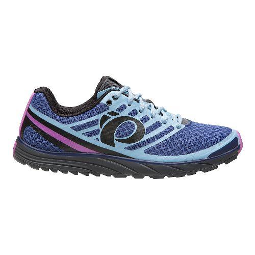 Womens Pearl Izumi EM Trail N 1 V2 Trail Running Shoe - Deep Indigo/Grey 9.5 ...