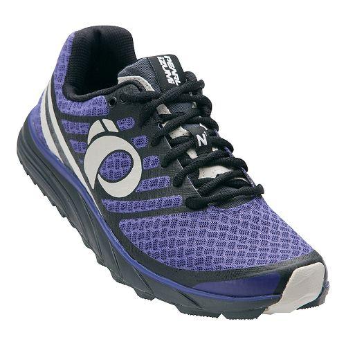 Womens Pearl Izumi EM Trail N 1 V2 Trail Running Shoe - Deep Wisteria/Black 10.5 ...