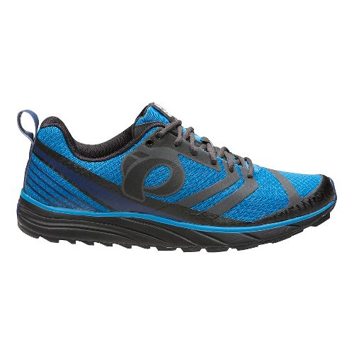 Mens Pearl Izumi EM Trail N 2 V2 Trail Running Shoe - Black/Fountain Blue 8 ...