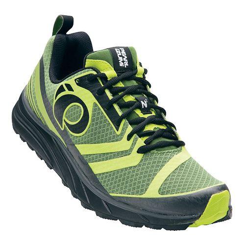 Mens Pearl Izumi EM Trail N 2 V2 Trail Running Shoe - Cactus/Lime Punch 9 ...