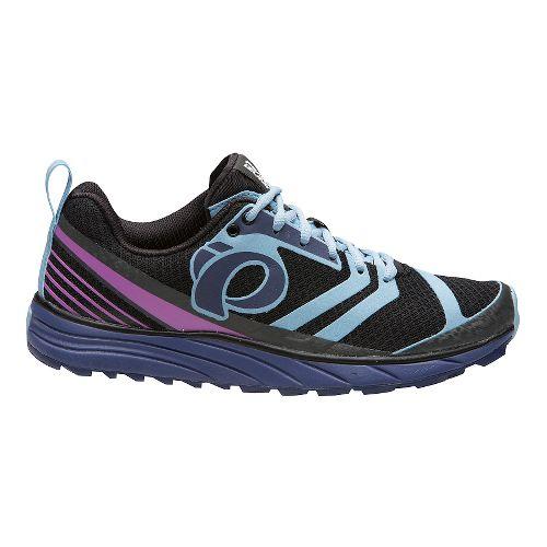 Womens Pearl Izumi EM Trail N 2 V2 Trail Running Shoe - Black/Deep Indigo 7 ...