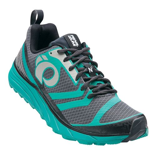 Womens Pearl Izumi EM Trail N 2 V2 Trail Running Shoe - Shadow Grey/Dynasty 7.5 ...