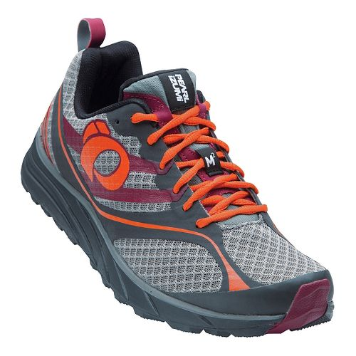 Mens Pearl Izumi EM Trail M 2 V2 Trail Running Shoe - Shadow Grey/Orange 9.5 ...