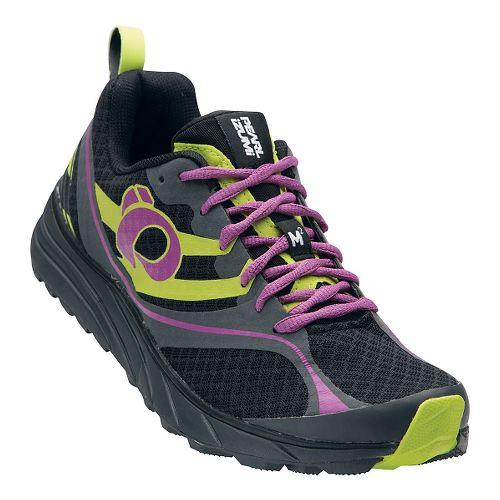 Womens Pearl Izumi EM Trail M 2 V2 Trail Running Shoe - Black/Meadow Mauve 12 ...