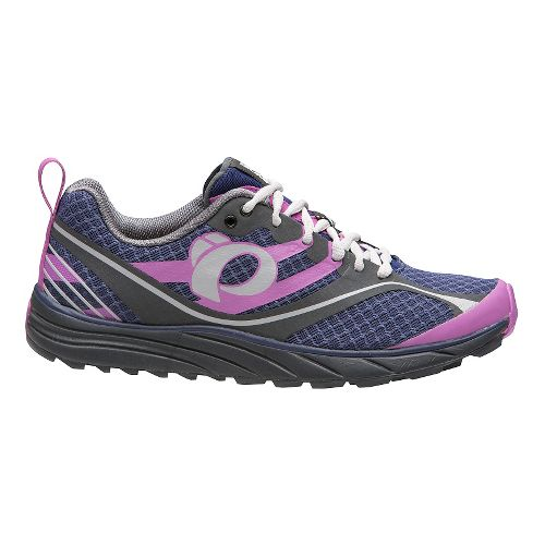 Womens Pearl Izumi EM Trail M 2 V2 Trail Running Shoe - Indigo/Shadow Grey 6.5 ...