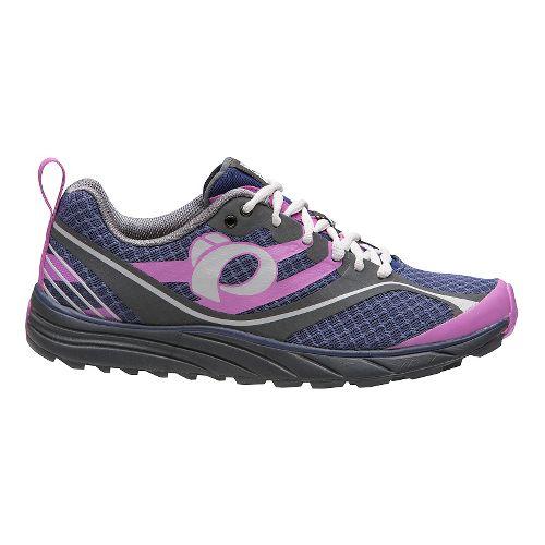 Womens Pearl Izumi EM Trail M 2 V2 Trail Running Shoe - Indigo/Shadow Grey 7 ...