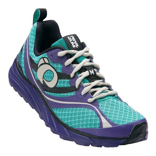Womens Pearl Izumi EM Trail M 2 V2 Trail Running Shoe - Dynasty Green/Wister 5 ...