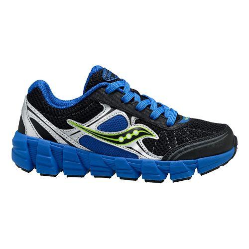 Kids Saucony Kotaro 2 Running Shoe - Black/Royal 12C