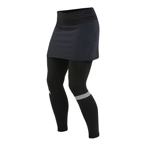 Womens Pearl Izumi Fly Skirt Over Full Length Tights - Black S